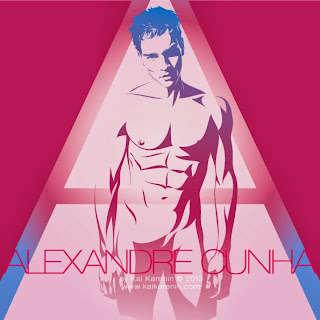 Alexandre Cunha by Kai Karenin, vector illustration