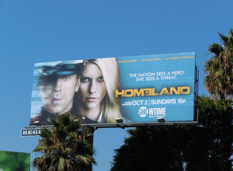 Homeland Showtime billboard