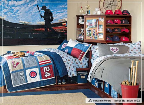 boys sports bedroom.  Boys Bedroom Ideas Sports These ideas will guide you on which one is appropriate for your bedroom You may also ask more tips from friends who had Home Interior Decorating