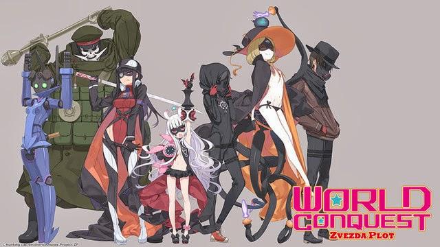6. World Conquest Zvezda Plot