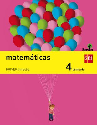 LIBROS DE TEXTO   Matemáticas . 4 Primaria - Cuarto : Savia SM - Edición 2015  MATERIAL ESCOLAR : Curso 2015-2016  Comprar en Amazon España más baratos y al mejor precio: