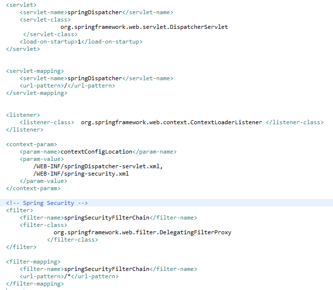 Spring Security for Spring MVC 4 Application Simple