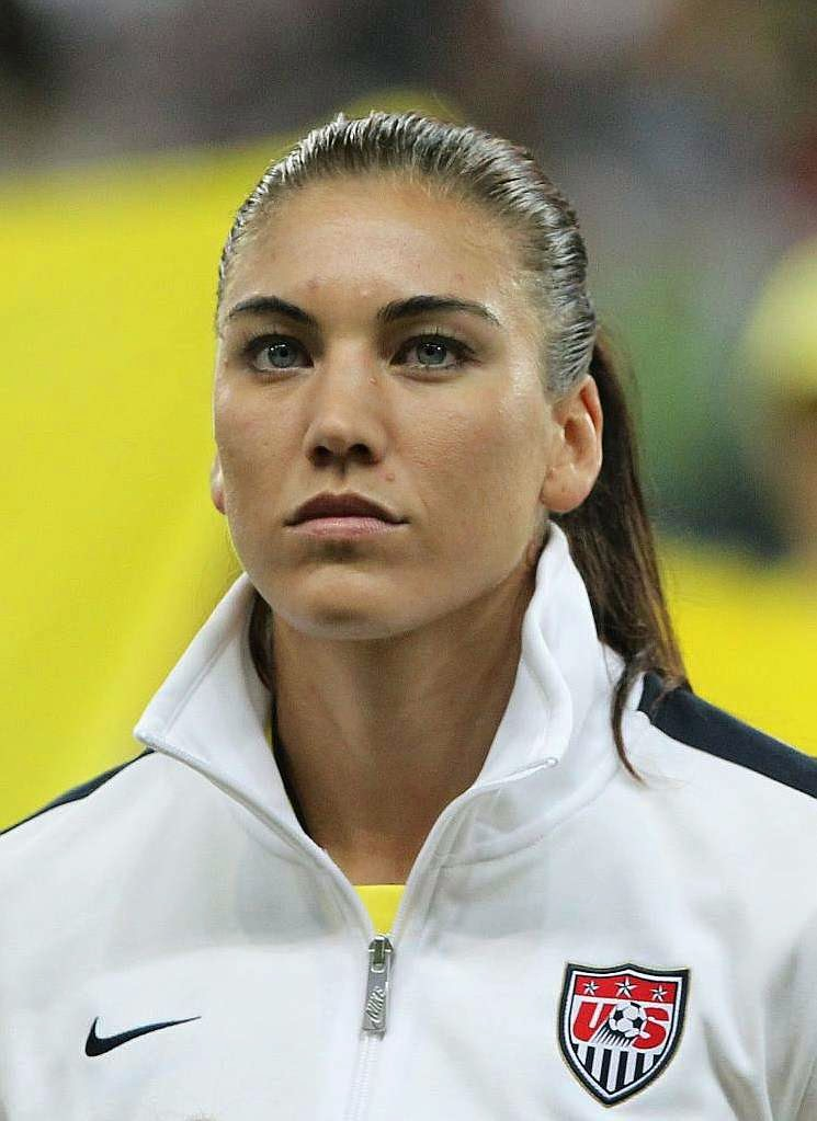U.S. goalkeeper Hope Solo, is the latest victim