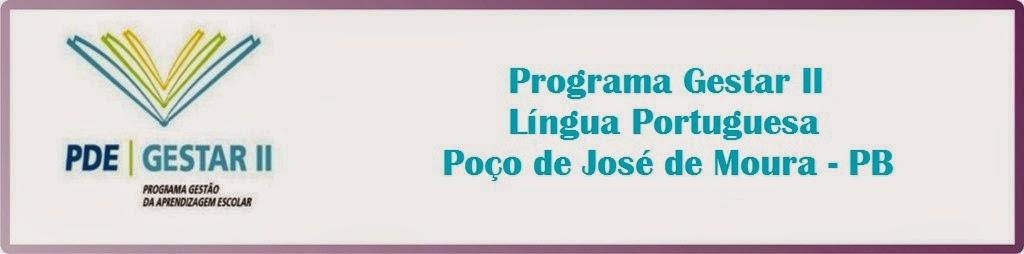 GESTAR II LÍNGUA PORTUGUESA - POÇO DE JOSÉ DE MOURA - PB