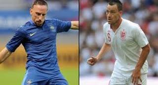 Prediksi Skor Sepakbola Perancis vs Inggris 11 Juni 2012