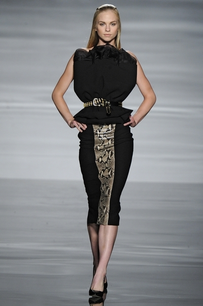 Ashley Williams university of westminster graduate fashion show 2012