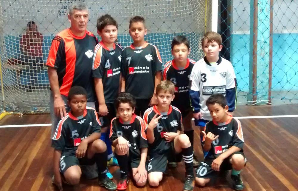 Esporte em Cachoeirinha  RS campeão Sub 9 da Ligraca 29d5899f9bae6