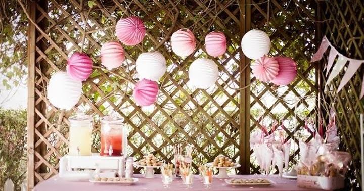 Decoraci n de fiestas exteriores estilo vintage en color for Decoracion fiesta vintage