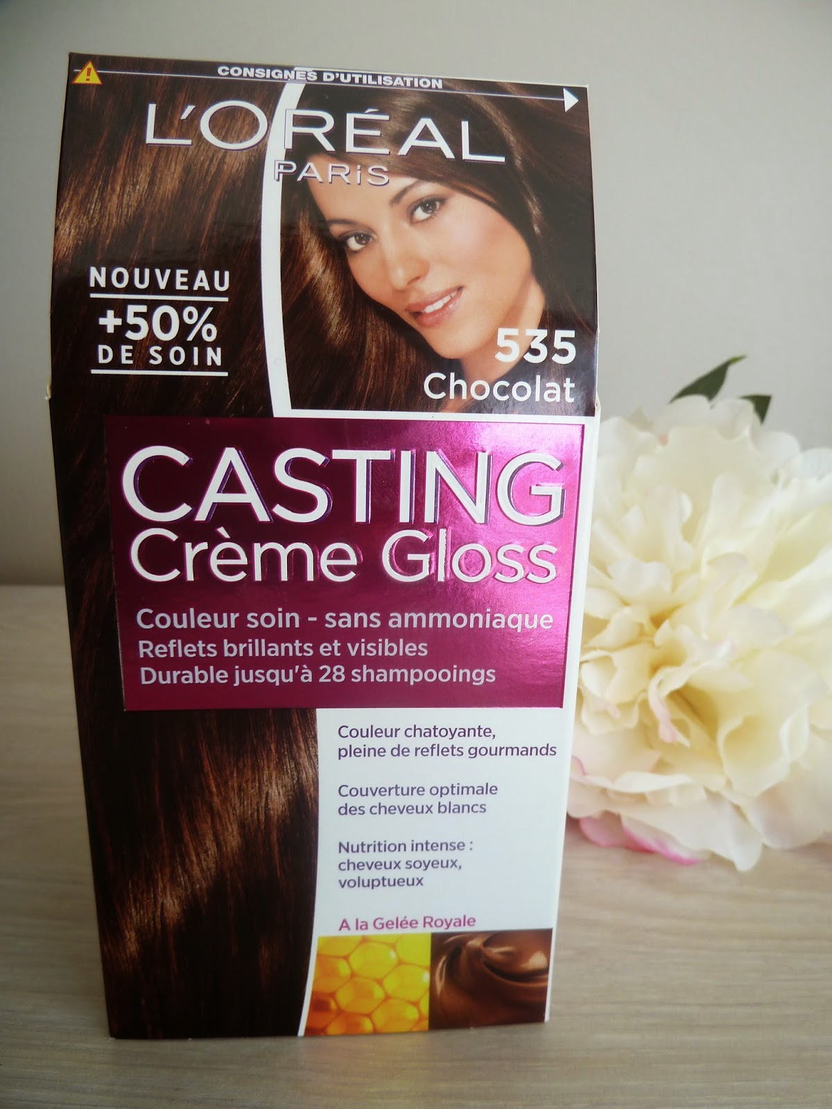 du chocolat sur mes cheveux casting crme gloss de loreal - Coloration Gloss Chocolat