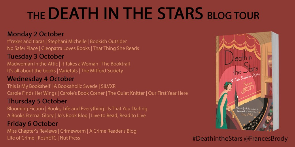 Death in the Stars Blog Tour