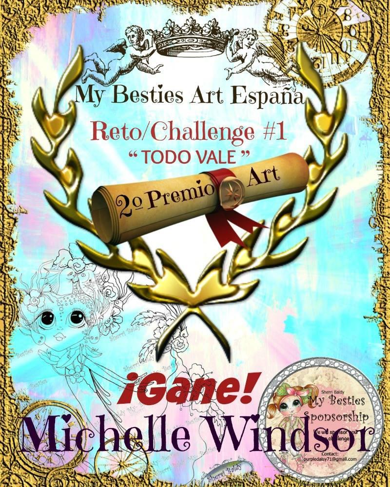 My Besties Art Spain challenge