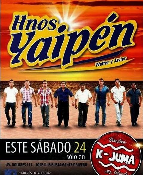 Hermanos Yaipén en Arequipa - 24 de mayo