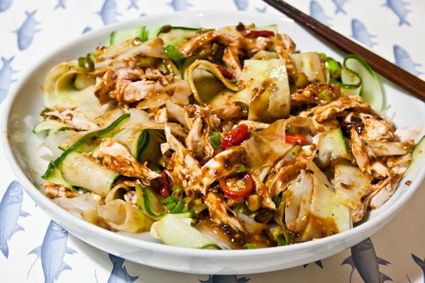 hungry tummies: Liang Ban Ji Si Fen Pi 涼拌雞絲粉皮 Cold Chicken ...