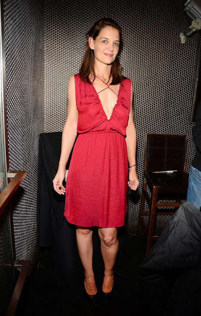 Actress, Model, @ Katie Holmes - Beauty & Essex in NYC