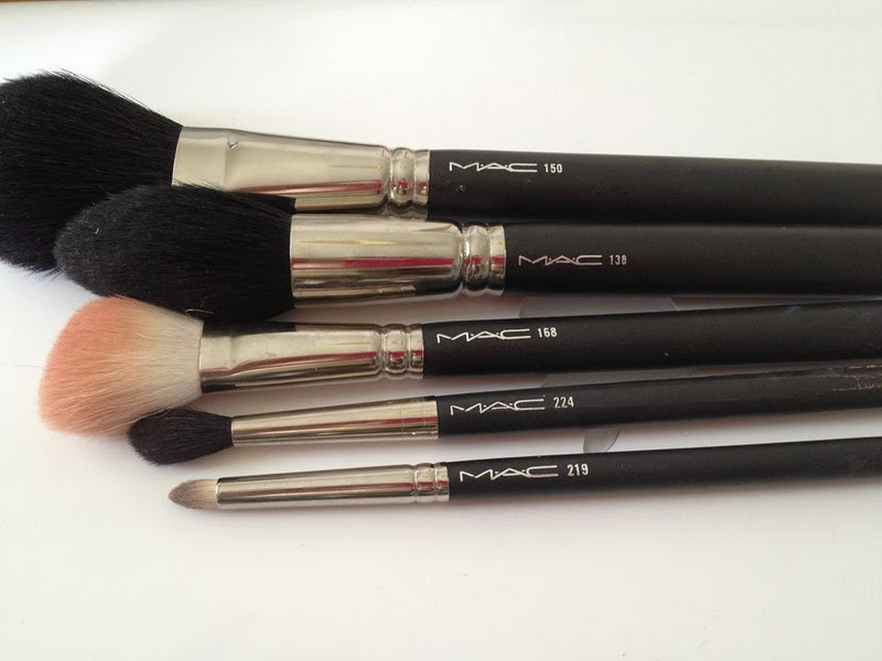 mac brush 168 how to use