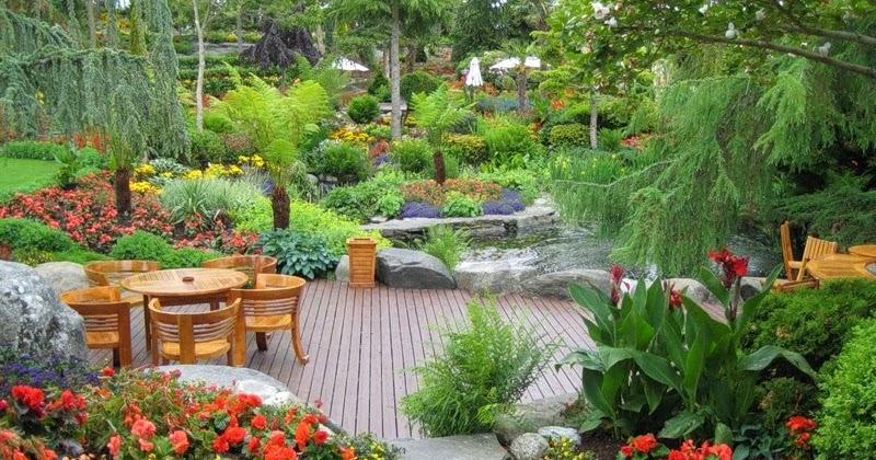 Arte y jardiner a dise o de jardines empleo del color en - Disenos de jardineria ...