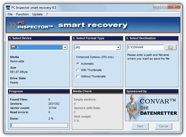 PC Inspector Smart Recovery