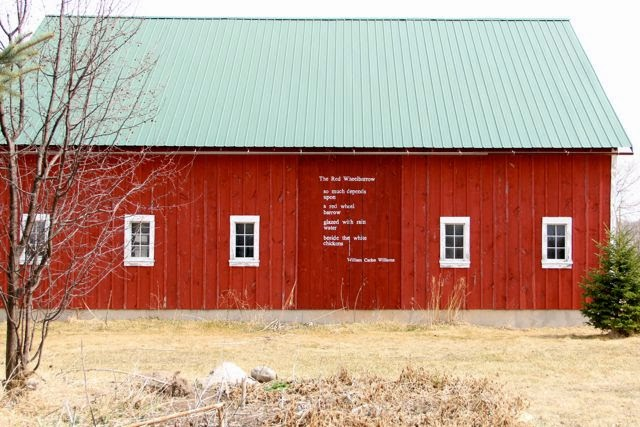 a poetry barn?