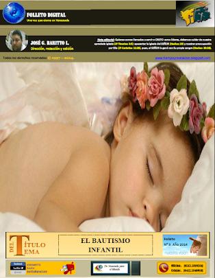 EL BAUTISMO INFANTIL