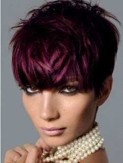 purple hair color trend for winter 2012