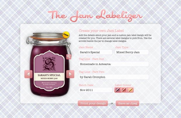 etiquetas personalizadas mermelada