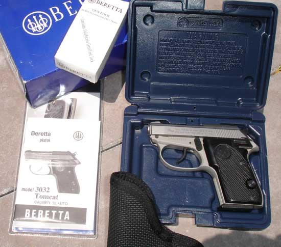 Blog de vendaarmasdefogoimpactoarmas : Armas de Fogo, Bereta Tomcat CAL 32 / 1003 R$