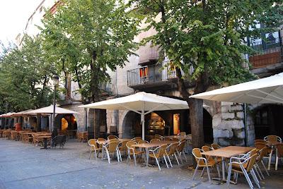 Terrasses Rambla de la Llibertat. Girona. Altres llocs d'interès.