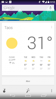Kitkat Google Now