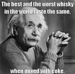 Einstein's theory of mixology