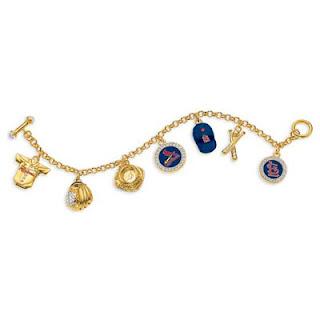 St. Louis Cardinals MLB Charm Bracelet