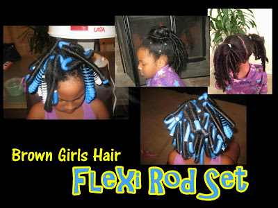 flexi rod set natural hairstyles black hair women girls