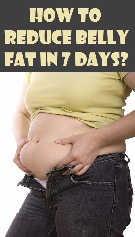How to Reduce Belly Fat in 7 Days?