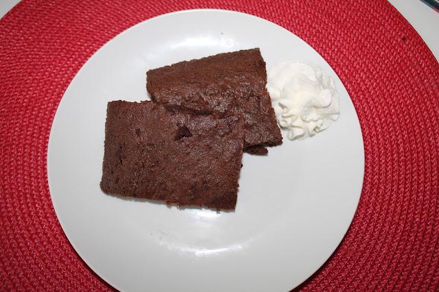 Brownie Sano y Sin Lactosa