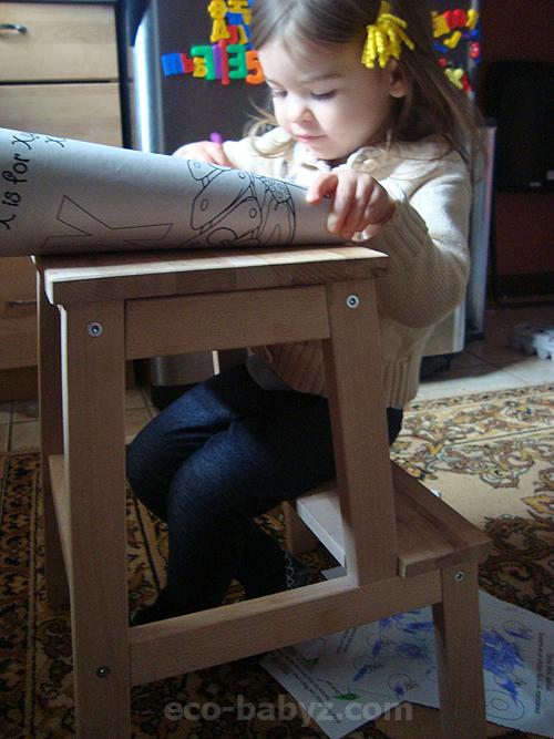 Eco Babyz Ikea Bekvam Step Stool Hack