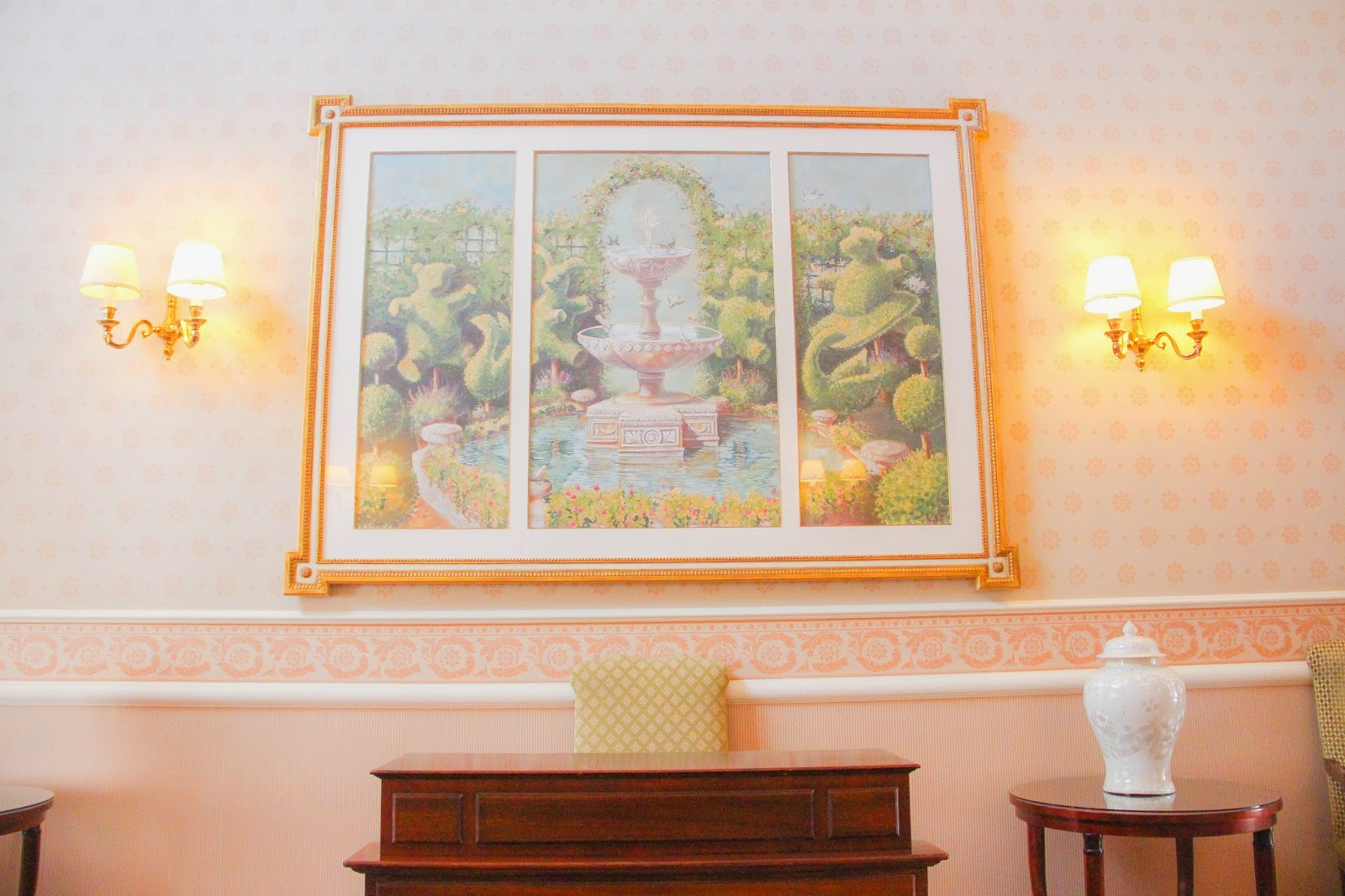 Cadre Disneyland hôtel décoration