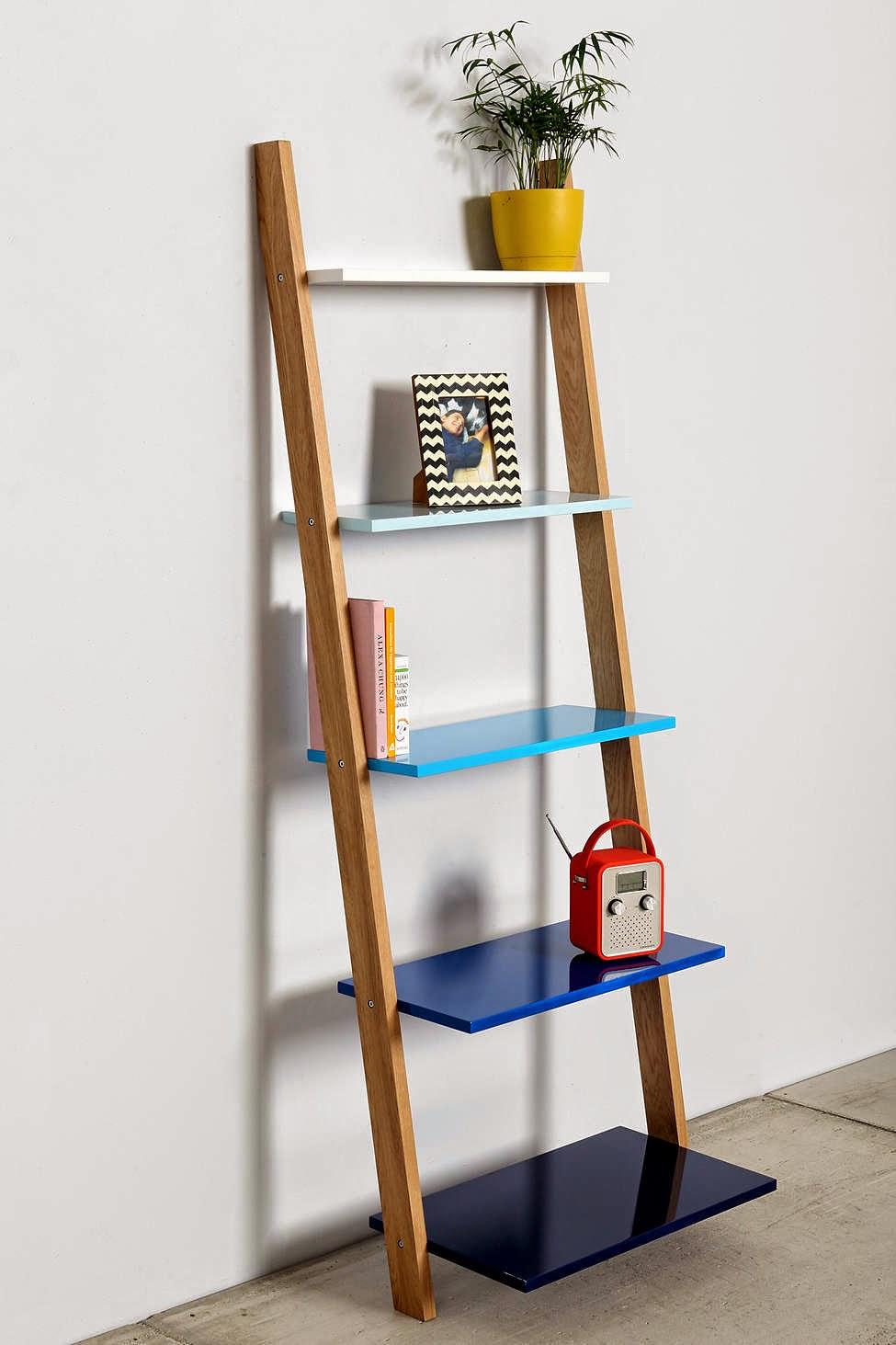 Linea Leaning Bookcase Linea Leaning Bookcase With Linea
