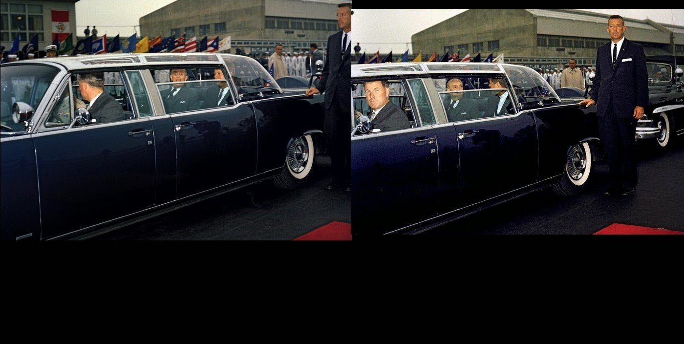 JFK bubbletop Washington, D.C. 9/19/61