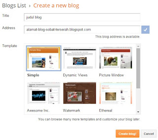 buat blog blogger