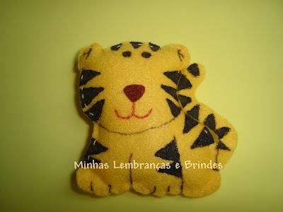 tigre-chaveiros-feltro-lembrancinha