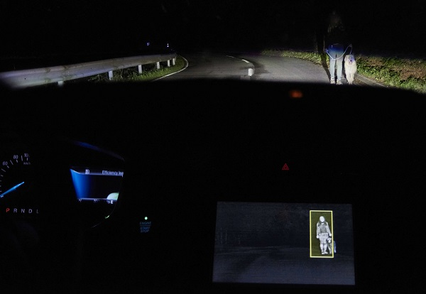Ford desarrolla un sistema de iluminación que detecta personas y animales