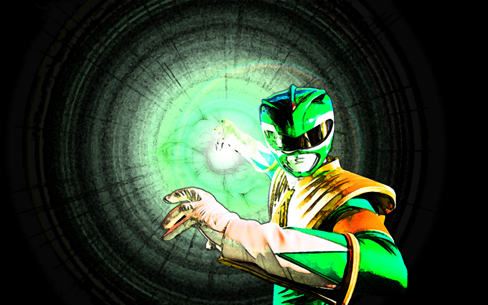 Green Power Ranger High Resolution Wallpapers Free