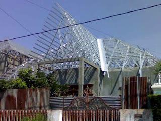 [Gambar] Rangka Atap Baja Ringan Berkualitas