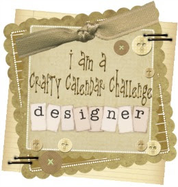 Honoured to be on the Design Team for Crafty Calendar Challenge