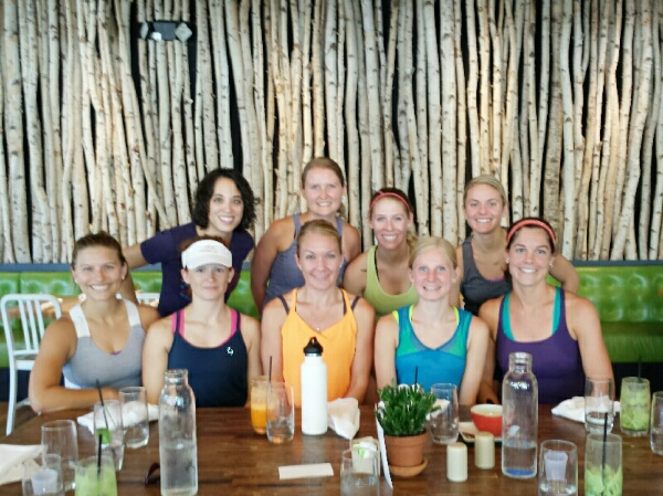 Oiselle Team Colorado at True Food Kitchen