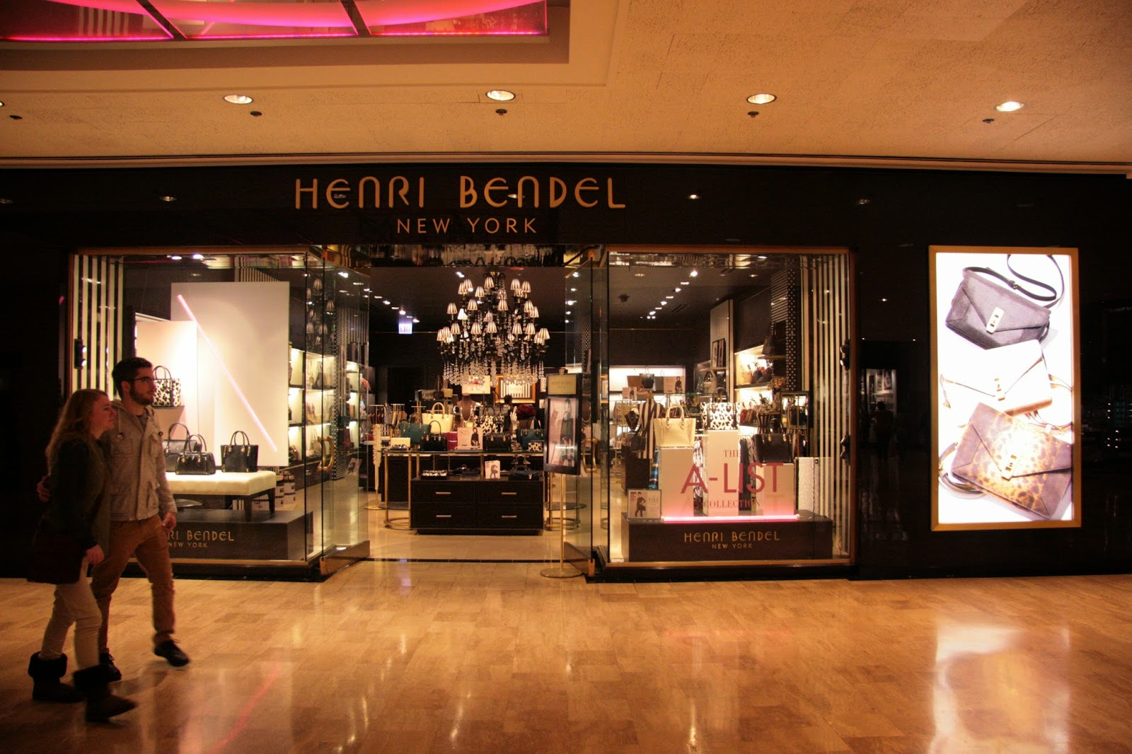Henry Bendel New York Store photography by Lisha