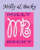 Verborgen winkel: Milly and Becky