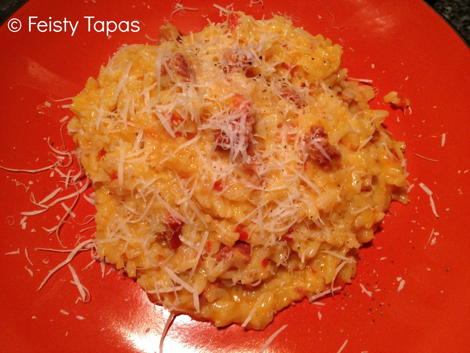 Feisty tapas thermomix chorizo and red pepper risotto recipe - Risotto chorizo thermomix ...
