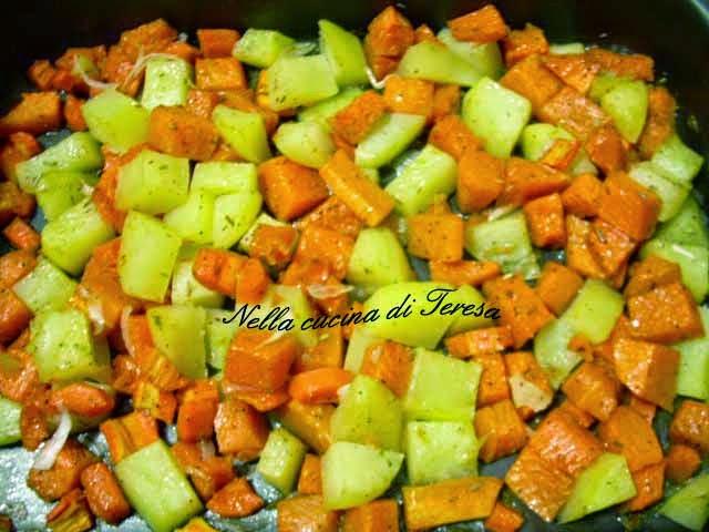Nella cucina di teresa patate e zucca al forno - Nella cucina di teresa ...