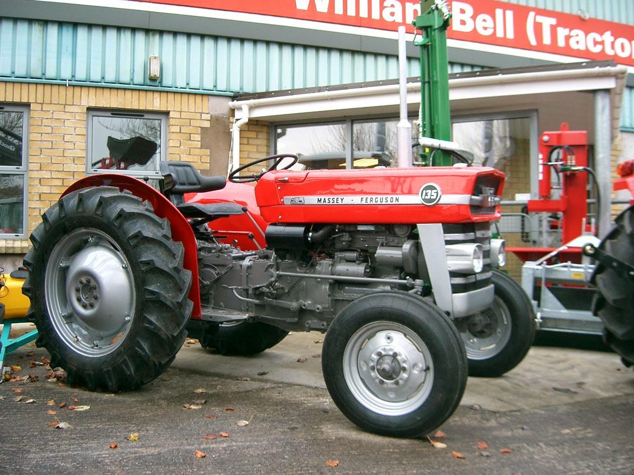 1964 Massey Ferguson 135 : Clockwork orange scalemodels tractor massey ferguson