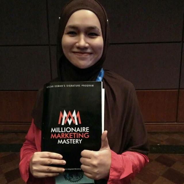 Dr Azizan Osman, Millionaire Marketing Mastery, seminar keusahawanan, klinik usahawan